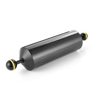 "330mm 13"" Carbon Fiber Float Arm Double Ball DSLR DV Camera Underwater Diving"