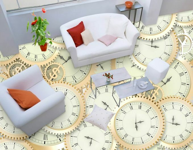 3D Cadran 09 09 09 Fond d'écran étage Peint en Autocollant Murale Plafond Chambre Art d8ee8e