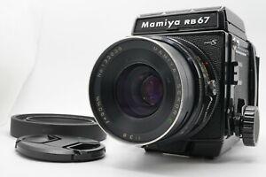 [Near MINT w/ Hood] Mamiya RB67 Pro S Camera Body Sekor C 90mm f/3.8 Lens Japan
