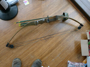 Vtg 1970 S Ben Pearson Laminated Wood Compound Archery Bow