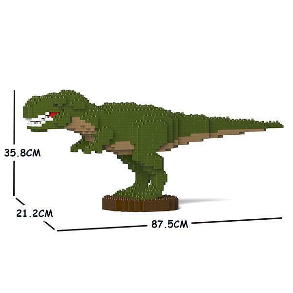 Kit de tejido animales jekca para niños T - Rex 01c - m01