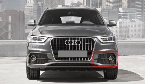 Audi Q3 véritable Ligne S 2012-2014 N//S Gauche Pare-chocs Brouillard Lumière Grill 8U0807681D SP9