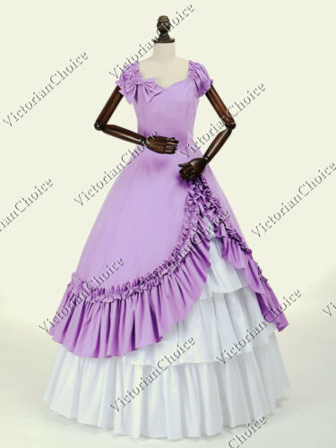 Victorian Dresses | Victorian Ballgowns | Victorian Clothing    Victorian Southern Belle Old West Princess Dress Ball Gown Theater Costume 208  AT vintagedancer.com