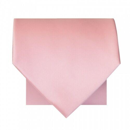 Plain Classic Men/'s Tie and Pocket Square Set Wedding Tie Normal Tie Regular Tie