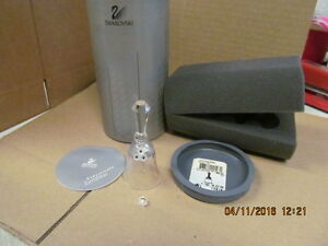 Vintage-Swarovski-Silver-Crystal-Small-Table-Bell-with-Box-7467-NR-039-000