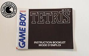 Tetris - Gameboy - Nintendo - Notice FAH