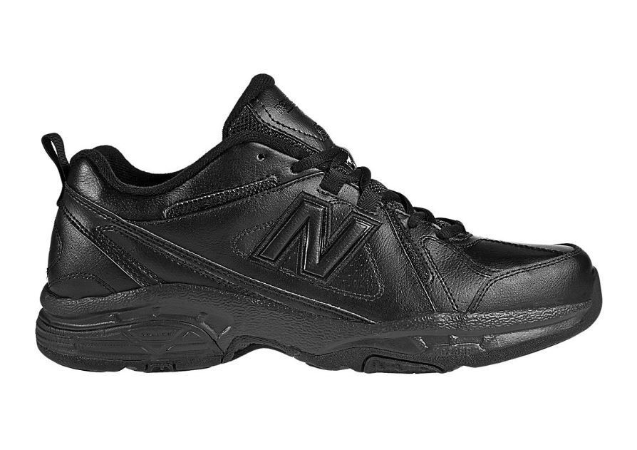 Männer new balance mx608v3b (4e) walking schuh schwarz schwarz schwarz f26d59