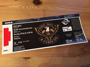 Böhse Onkelz Ticket Für Konzert In Gelsenkirchen 892018 Stehplatz