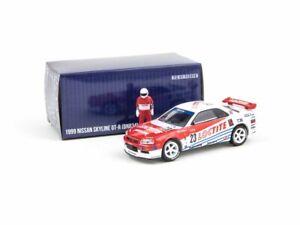 Nissan-Skyline-GT-R-R34-Loctite-escala-1-64-por-Greenlight-X-Tarmac-Funciona
