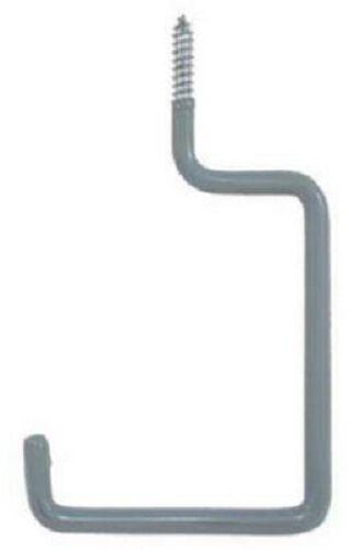 (25) Crawford SS17-25 Vinyl Coated Steel Screw In Utility Storage Hanging Hooks