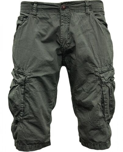 SHINE originale Cargo Pantaloncini 2-58049 METAL GREY