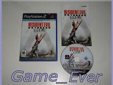 RESIDENT EVIL OUTBREAK FILE 2 - PS2 PS3 60GO - POCHETTE FR - JEU FR