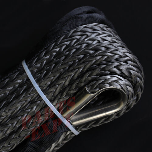 "1//2/"" x 100/' Synthetic Dyneema Cable 4WD recovery rope 12mm x 30M winch Rope"