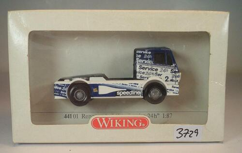 441 01 MB Mercedes Benz Racing Truck 24H Service OVP #3729 Wiking 1//87 Nr