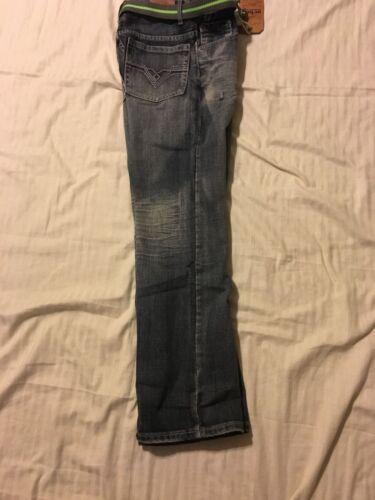 Boy/'s Low Rise//Relaxed Fit URBAN PIPELINE Bootcut Leg Jeans w//Belt Adj Waist