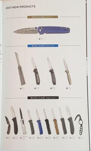 Cuchillo Benchmade Company 2017 CATÁLOGO FOLLETO//30th aniversario nuevo 96 páginas