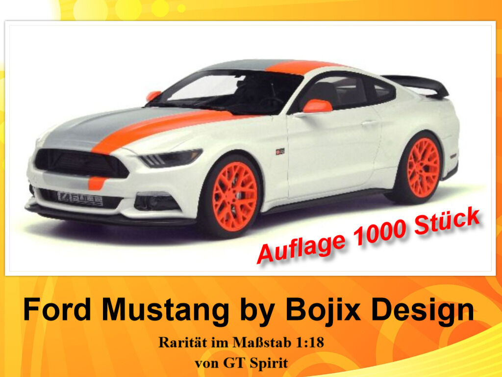 FORD Mustang by bojix design stata limitata 1.000 pezzi GT Spirit 1 18