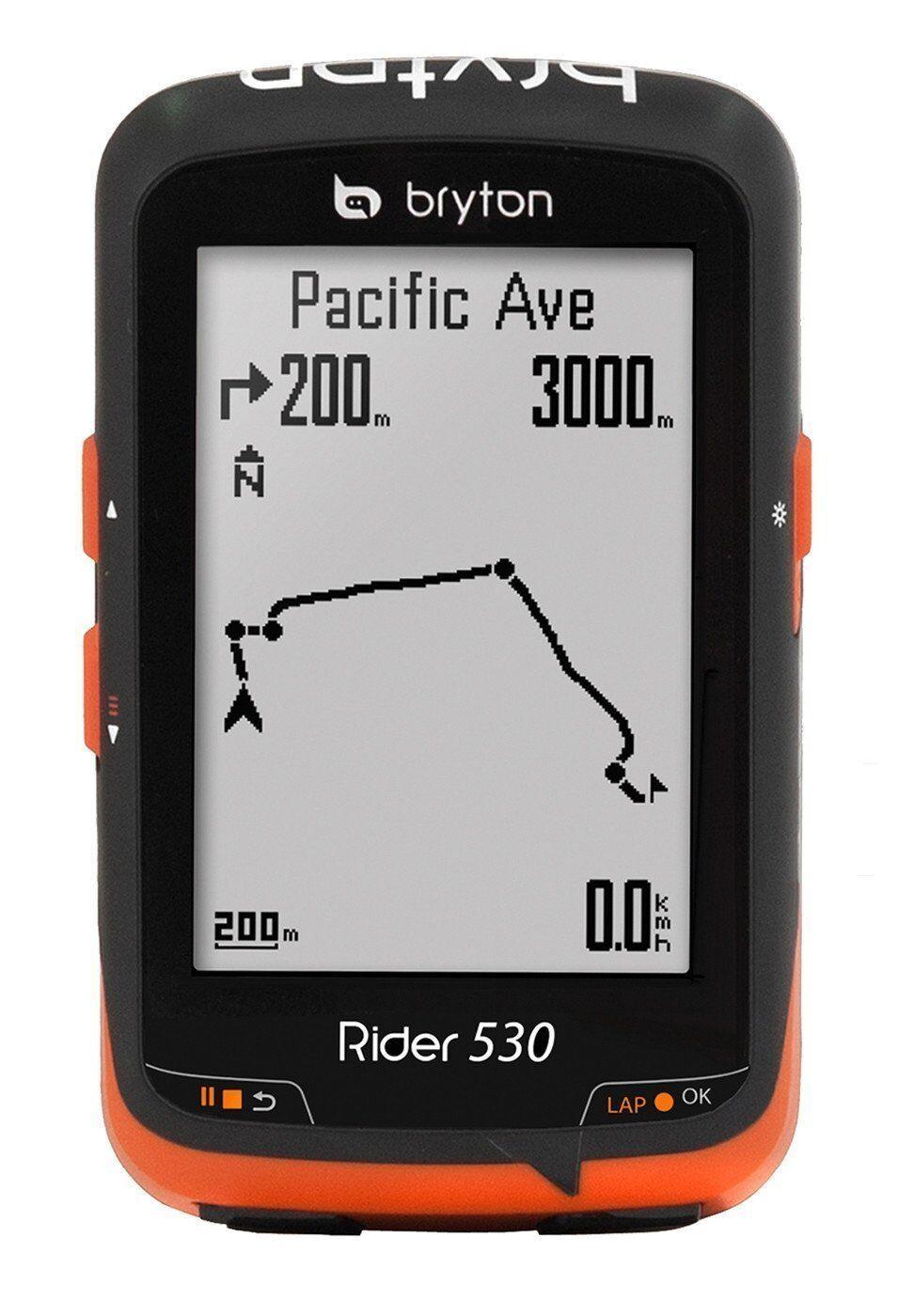 Bryton Rider 530 C, Computer GPS mit Geschwindigkeitsmesser