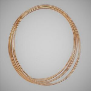 6-x-5-034-Copper-Colour-Dreamcatcher-Macrame-Craft-Hoop-Ring-amp-Free-Cotton-Cord