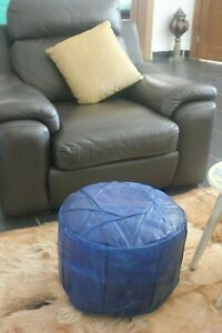 Ottoman-genuine-Leather-Morrocan-Footstool