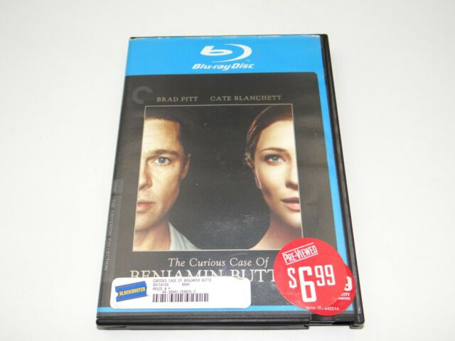 The Curious Case of Benjamin Button (Blu-ray Disc, 2009, 2-Disc Set, Special...
