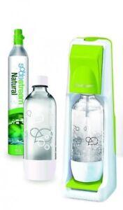 SodaStream Cool Wassersprudler inkl. 2 PET Flaschen Trinkwassersprudler, Grün