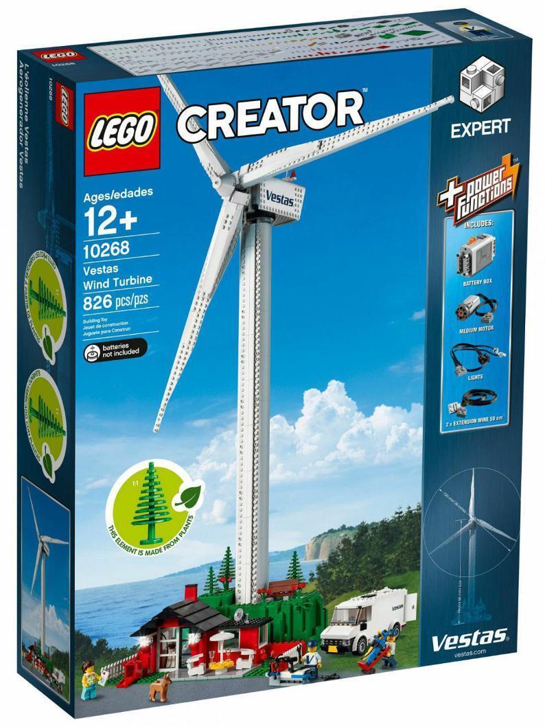 LEGO® CREATOR 10268 - VESTAS® WINDKRAFTANLAGE WINDKRAFTANLAGE WINDKRAFTANLAGE WIND TURBINE NEU OVP 5896ab