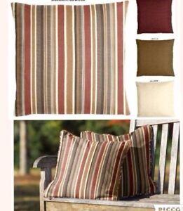 Image Is Loading Sunbrella Brannon Redwood Indoor Outdoor Pillow