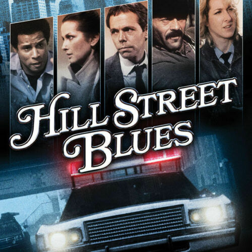 HILL STREET BLUES TV SERIES POSTER 24 X 24 INCH AWESOME!