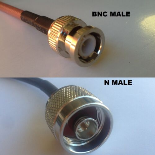 RG316 BNC MALE to N MALE Coaxial RF Cable USA-US