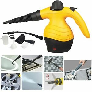 Electric-Portable-Hand-Held-Steam-Steamer-Cleaner-with-Accessories-BRAND-NEW