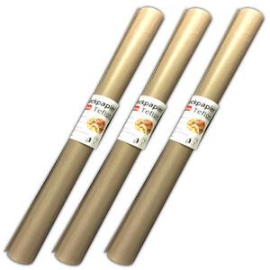 3-Stueck-Antihaft-Dauerbackfolie-Backpapier-Teflon-Dauerbackpapier-Backtrennfolie