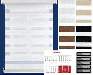Doble-Doble-Persiana-Boncuklu-Cebra-Perde-Gran-Colores-Brillo-Perlas-Exclusivo