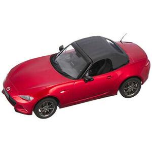 First 18/Première MAZDA 18 NEW ROADSTER SOUL Rouge Premium Métallique Échelle 1/18 nouveau