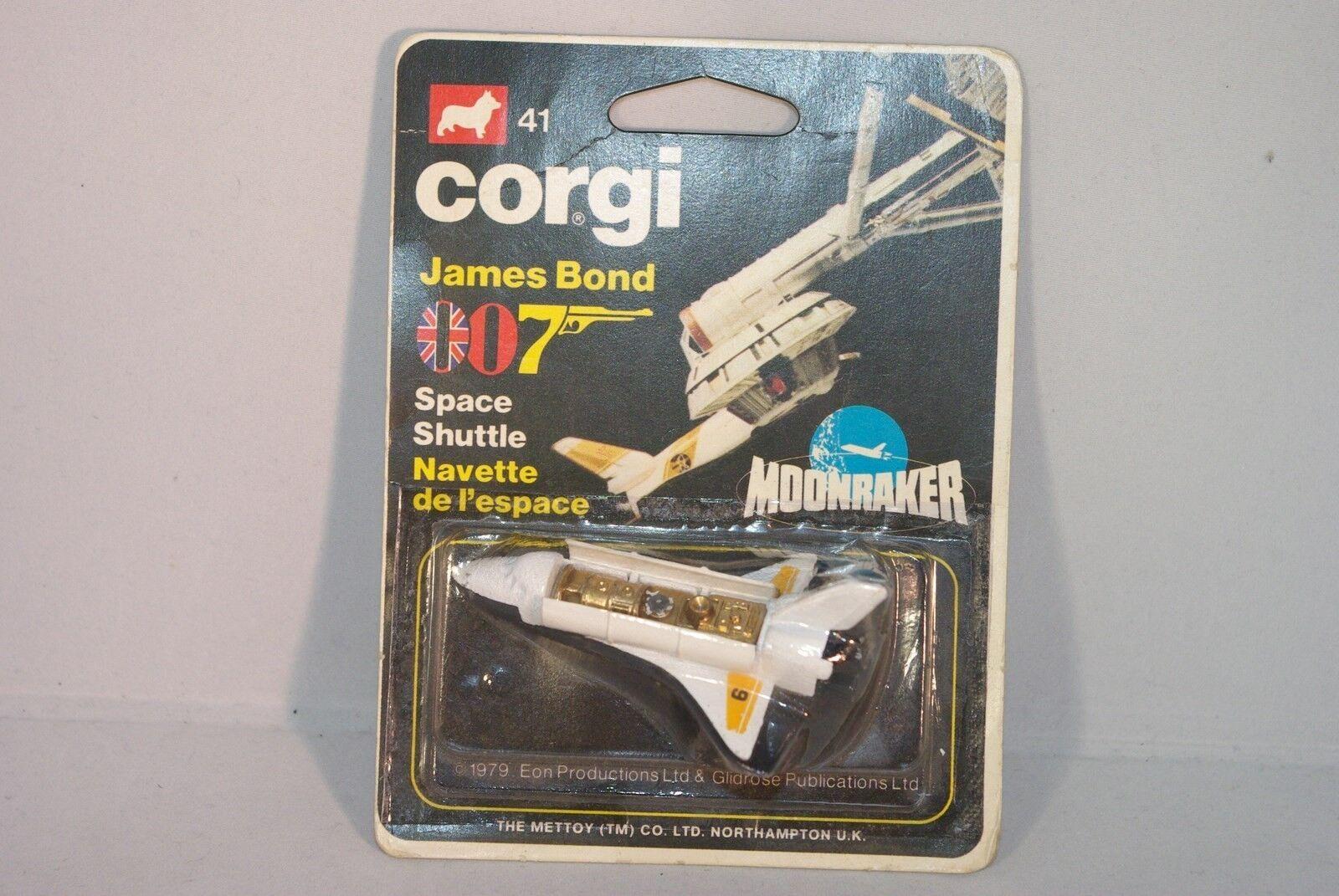 CORGI TOYS 41 JAMES BOND 007 SPACE SHUTTLE MOONRAKER MINT BOXED SELTEN RARE