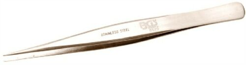 BGS Edelstahl Spitzpinzette 125 mm gerade 8620
