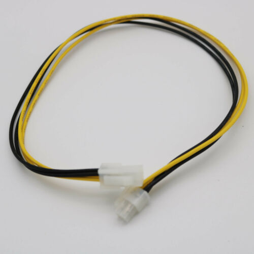 4-Pin 12V Power Extension Cable Male to Female EPS 4P ATX Motherboard CPU 50cm