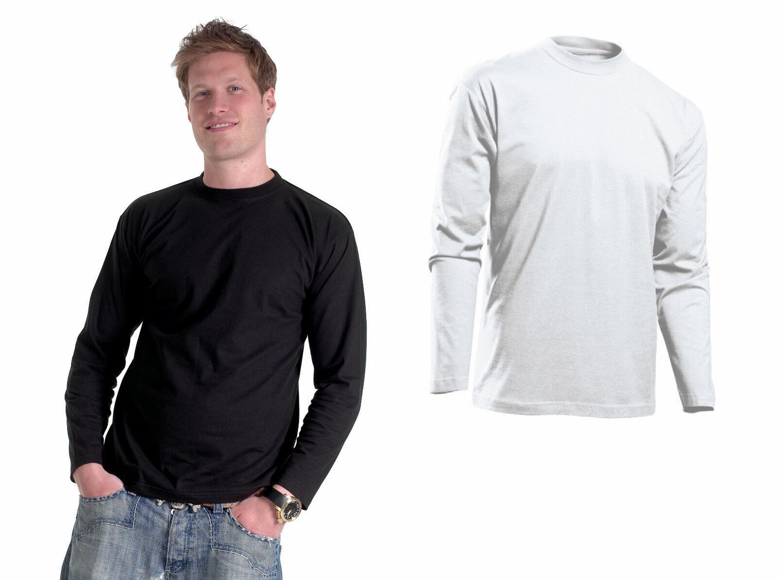 - manga larga camisa talla s-3xl 4xl negro blanco camiseta manga larga camisa jersey sudadera