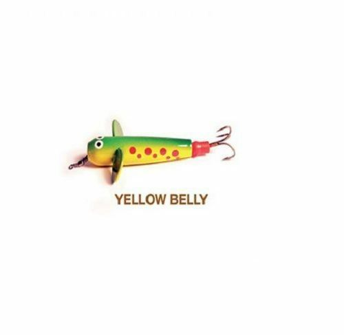 Allcock Devon Minnow 2.5 in Yellow Belly//fishing lure