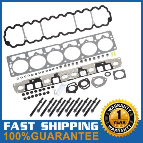 For Jeep Grand Wrangler 4.0L Cylinder Head Gasket Bolts kit One Year Warranty
