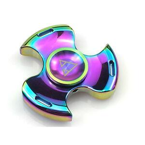 Fidget Spinner High Quality Beyblade Rotablade Tri-Spinner EDC ADHD - RAINBOW
