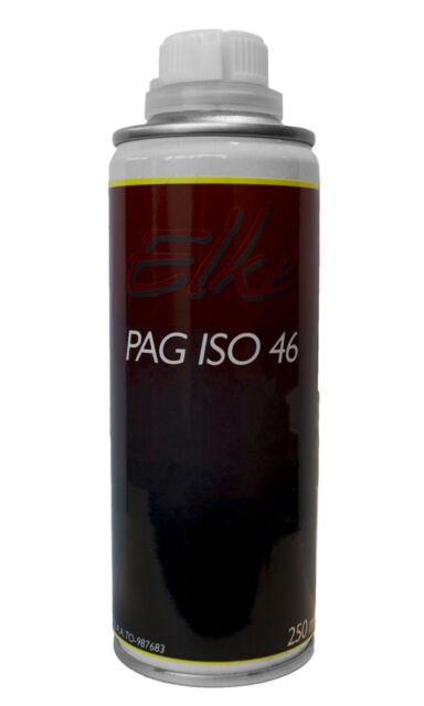 Elke R134a Car A/C Air Conditioning Refrigerant Pag Iso 46 Oil 250ml