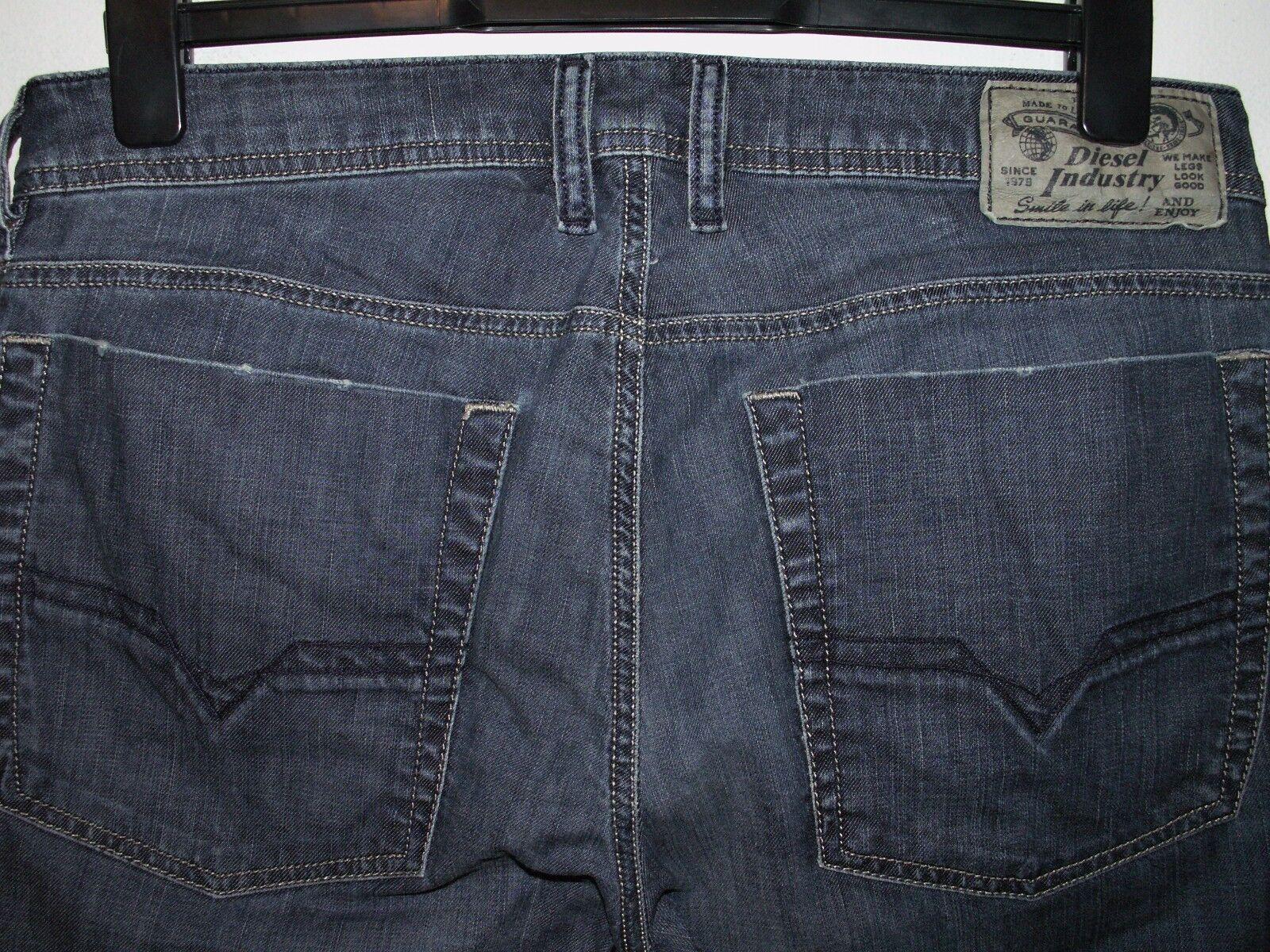 DIESEL ZATHAN Jeans avviocut Wash 0064M Stretch W32 L30 (a2655) (a2655) (a2655) 1e5801