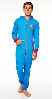 Superman Jumpsuit With Hood Men's One Piece Jumpsuit Suit