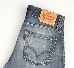 Levi's Strauss & Co Hommes 506 Jeans Jambe Droite Taille W32 L32 AVZ939