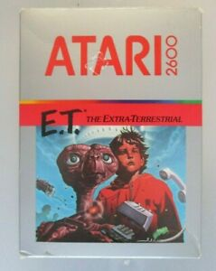 ATARI-2600-GAME-E-T-THE-EXTRA-TERRESTRIAL-INCLUDES-GAME-BOX-MANUAL-amp-INSERTS