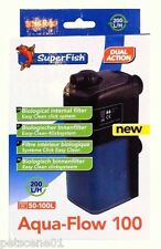 Superfish Aqua flow 100 Internal Filter 50 -100l litres Dual Action