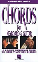 Chords For Keyboard And Guitar Sheet Music Paperback Songs 000702009