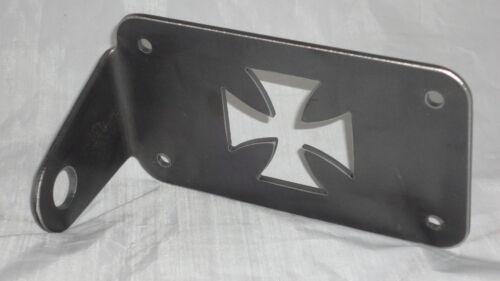 Motorcycle side mount MALTESE license plate holder  NEW t05//07 GTC