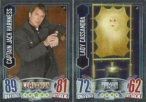 DOCTOR WHO ALIEN ATTAX  FOIL OR MIRROR  CARDS ....CHOOSE Verzamelingen